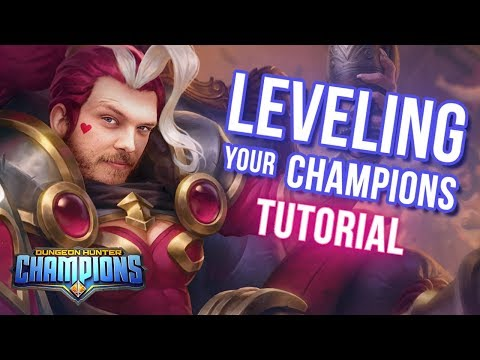 LEVELING YOUR CHAMPIONS - Tips & Tricks (Dungeon Hunter Champions)