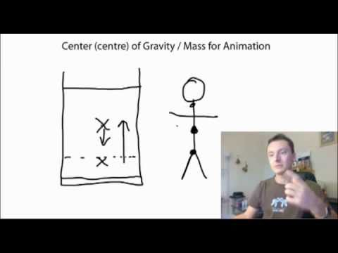 Center of Gravity for Animation - (Centre of Mass)