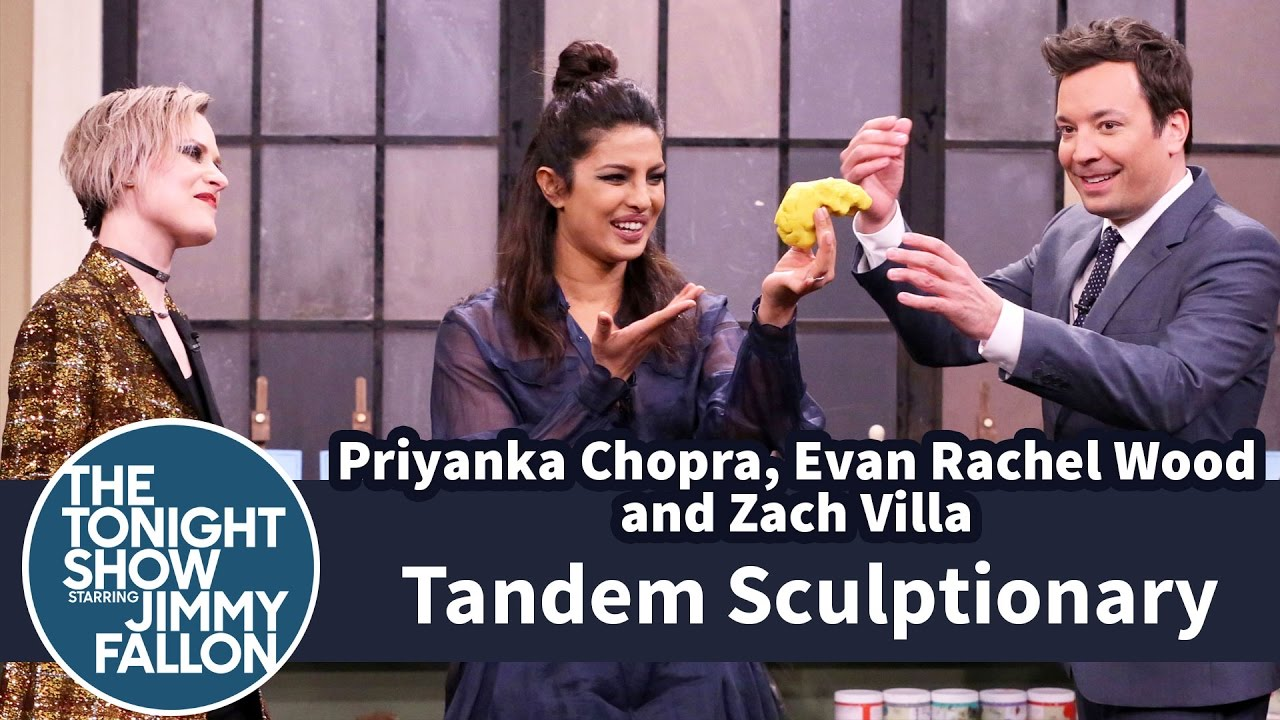 Tandem Sculptionary with Priyanka Chopra, Evan Rachel Wood and ...