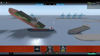 Simulateur Roblox Dynamic Ship 2! #2 couler plus de navires! ½?