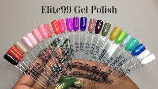 Elite 99 Gel Polish Haul
