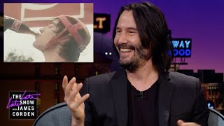 Keanu Reeves Watches His 1980s Coca-Cola Commercial thumbnail