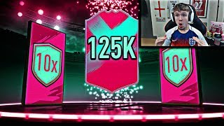 this is what 10x 125K Packs got me for FUT Birthday…