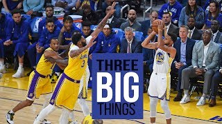 3 Big Things: Warriors need depth in two key positions