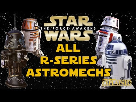 All R-Series Astromech Droids (Legends) - Star Wars Explained