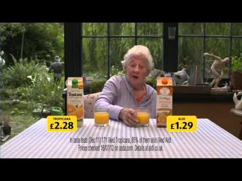 Aldi - Orange Juice - Advert