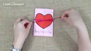 Valentines Day Cards | Valentine Cards Handmade Easy