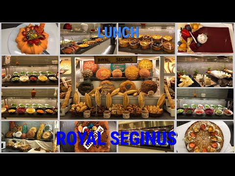 Royal Seginus /lunch/обед/main restaurant