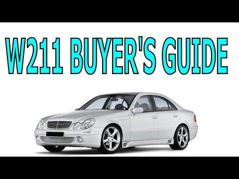 Mercedes W211 buyer's guide 2003-2009