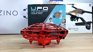 UFO Drone that Flies by Sensing Your Hands! - No Transmitter - No App