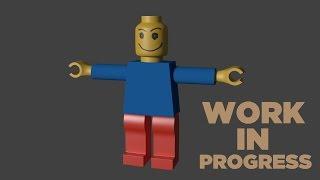 Blender - Lego Character Speed Art