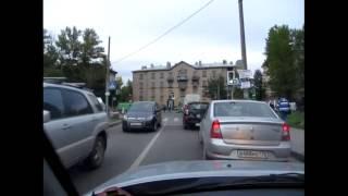 Дополнительные секции на светофоре и проезды перекрестков.