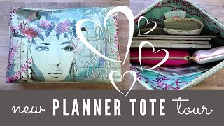 What's In My Planner Bag? Planner Essentials Travel Tote Tour