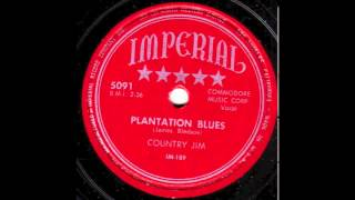 Country Jim - Plantation Blues (Imperial 5091, IM-189)