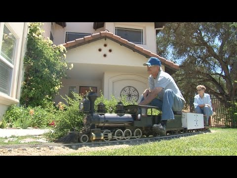 The amazing backyard railroad of Jim Sabin - full HD program