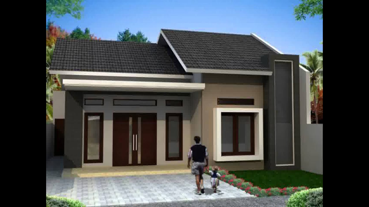 Trend Model Rumah Minimalis Ukuran 7x12 Youtube
