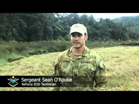Operation Render Safe 2011 - Kokoda Track Task