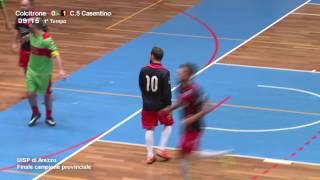 [Finale C.5 2016/17] Calcio 5 Casentino - Colcitrone