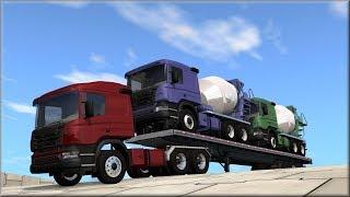 BeamNG Drive Insane Trucking Crashes #6