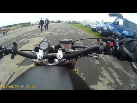 supercharged bmw k1100rs speed wheelie elvington 2017