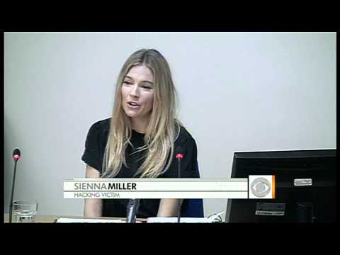 Sienna Miller Testifies In Phone Hacking Hearing