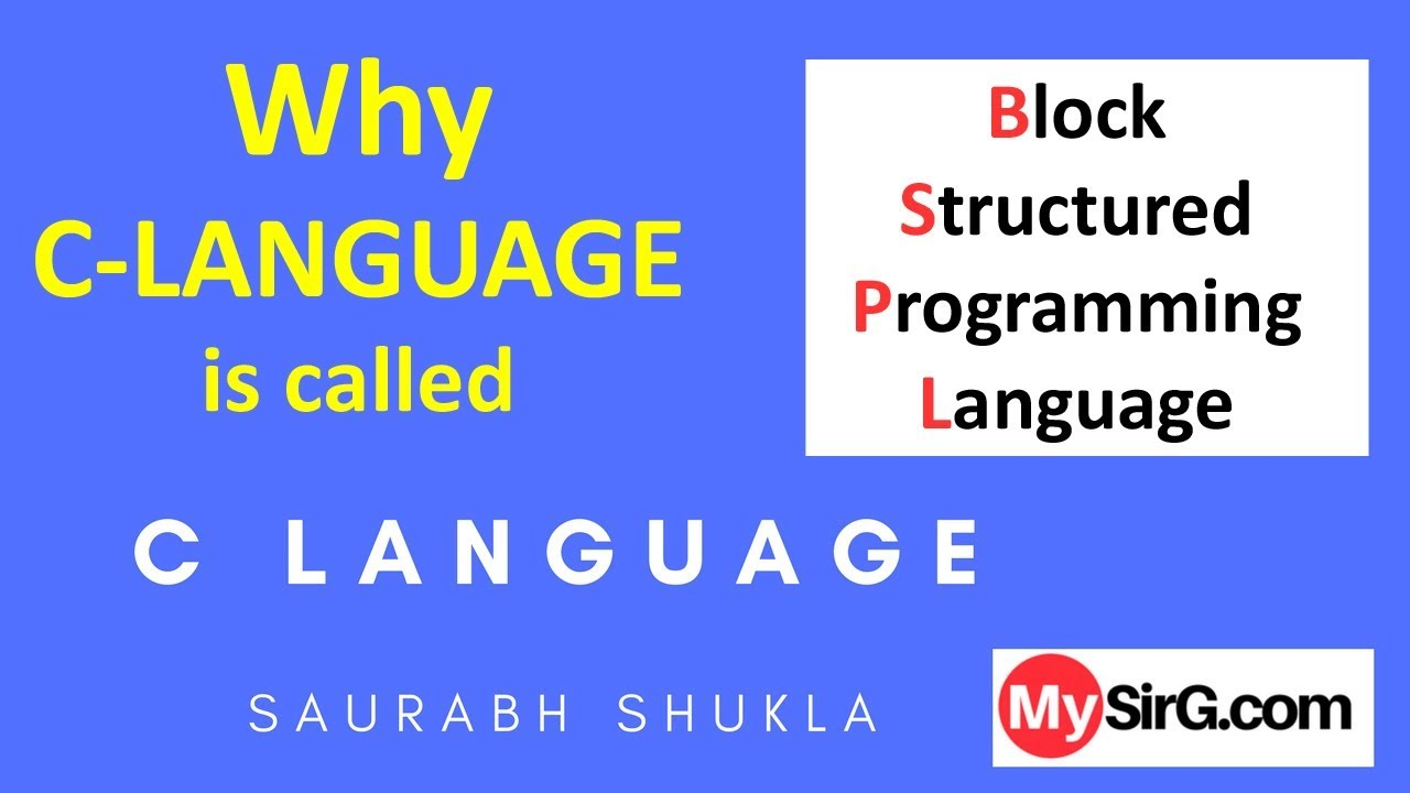 why the c programming language is the language of choice Python is an object-oriented language in the same family as javascript, perl, sql, c# and c++ it's been named as one of the 9 most in-demand programming languages of 2016, and we see it as progressively becoming a must-have skill.