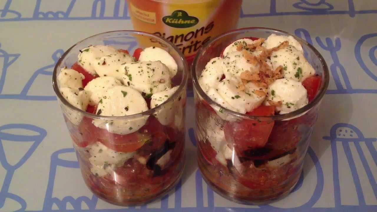 Faire des verrines ap ritif tomate mozzarella youtube - Faire pousser tomate cerise ...