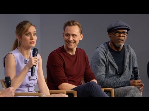Kong: Skull Island Cast Interview with Tom Hiddleston, Brie