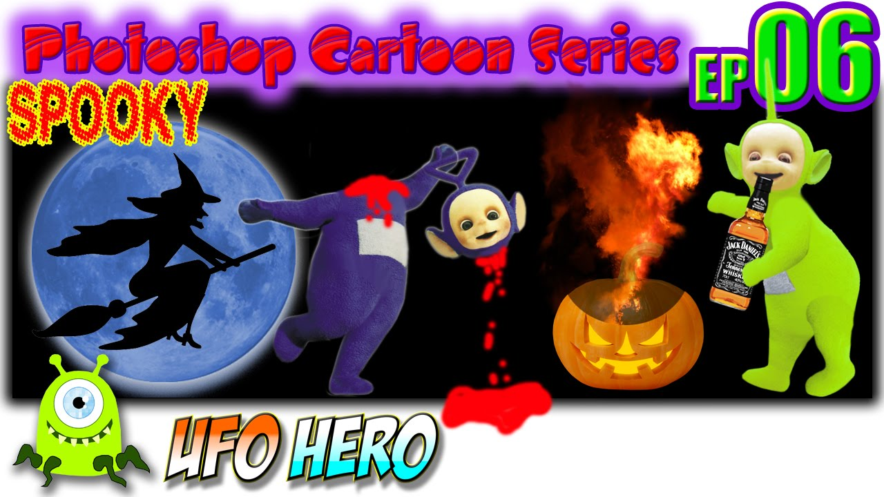 best halloween prank pumpkin cartoon 2015 spooky pranks killing teletubbies parody horror story youtube