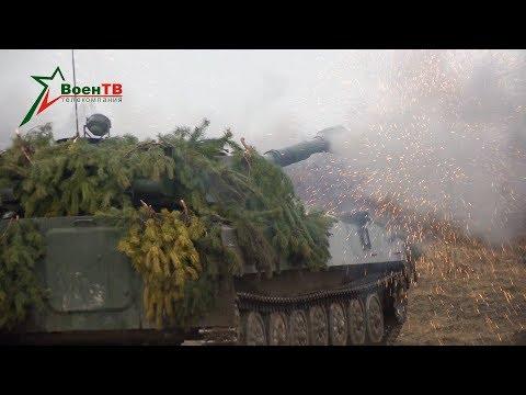 Военное обозрение (09.04.2020) Стрельба «Акаций» и «Гвоздик»