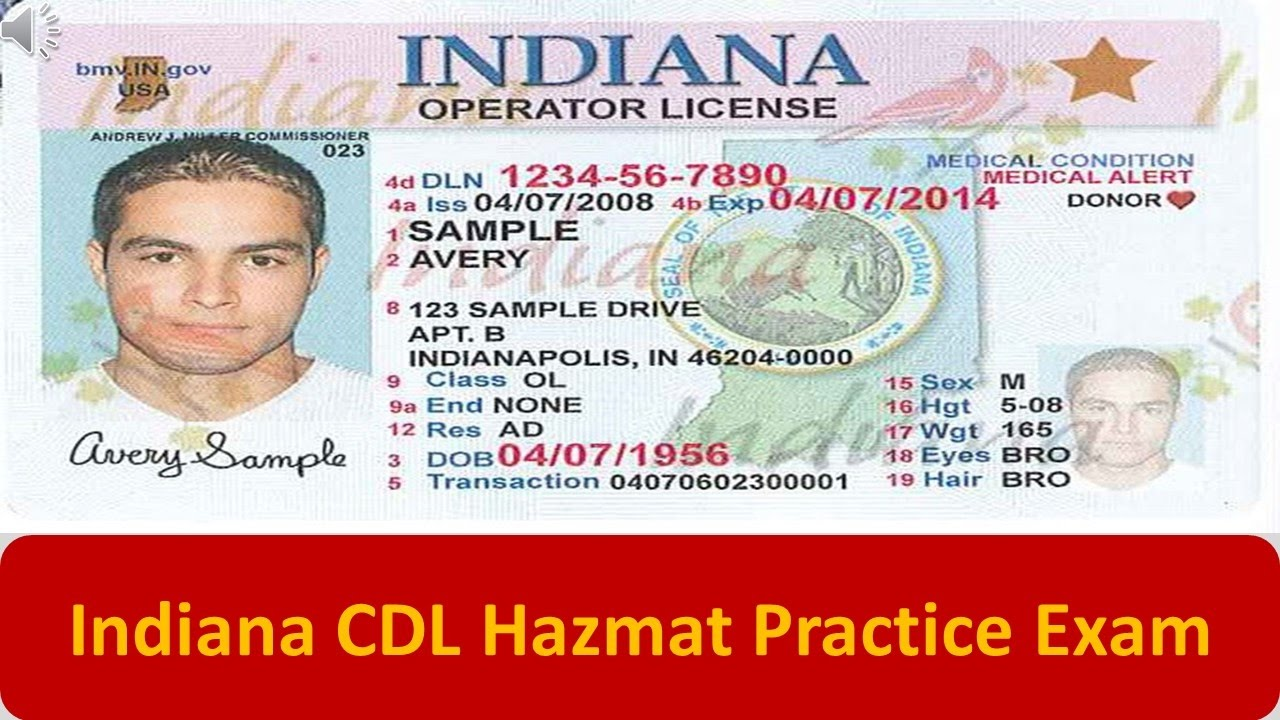 graphic about Cdl Hazmat Practice Test Printable identified as Haz Mat Endorsement