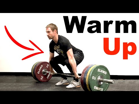 The GREATEST Deadlift Warm Up Routine