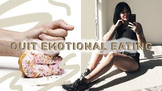 Quit Emotional Eating & Self Sabotage FOR GOOD // MIND OVER BODY ep 3