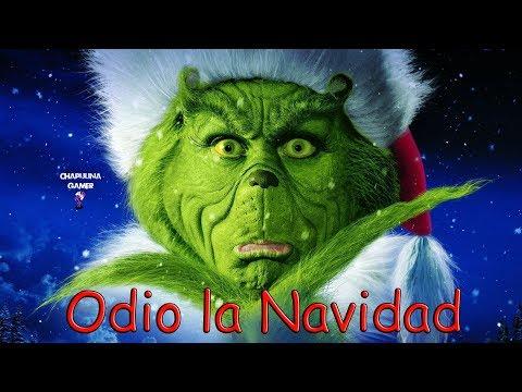 Creepypasta Grinch Odio La Navidad Youtube