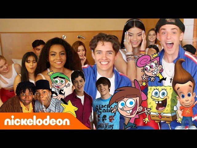 JOGO DE MÍMICA DA NICKELODEON COM NOW UNITED! | Nickelodeon em Português