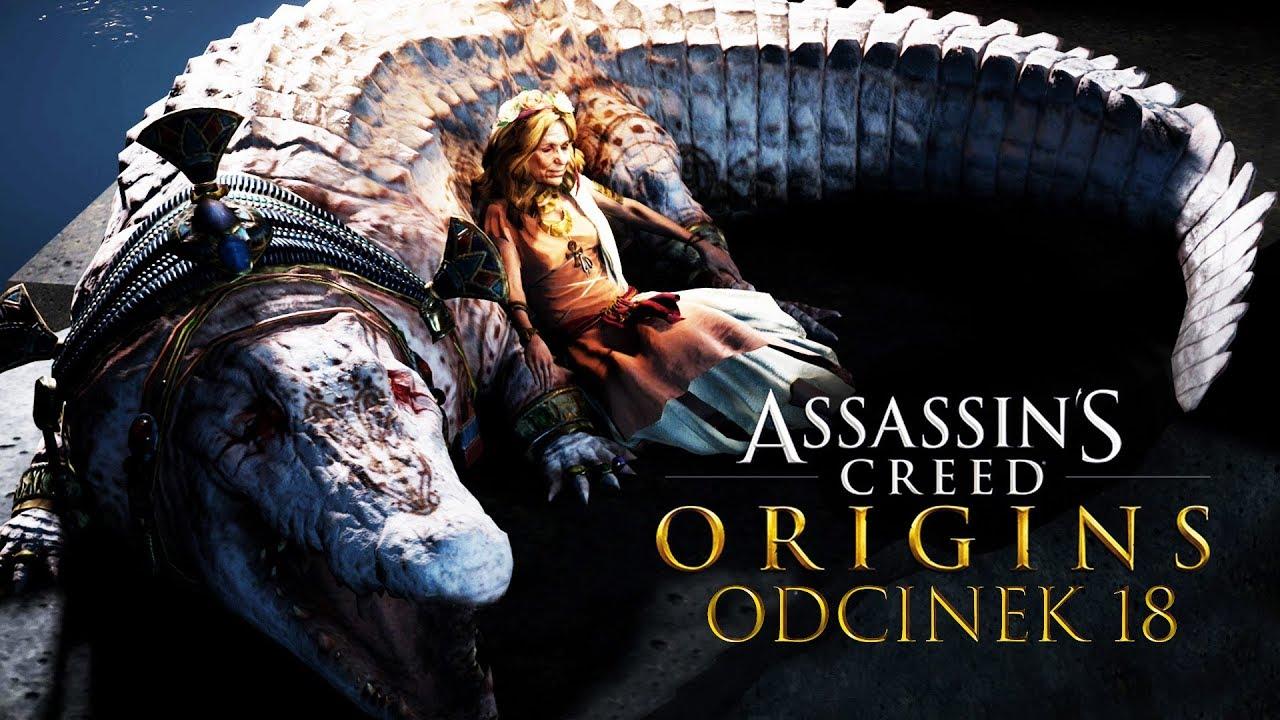 Zagrajmy w Assassin's Creed Origins #18 – ZABÓJSTWO KROKODYLA! – PC