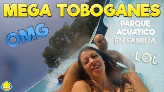 MEGA TOBOGANES vlog parque acuático en familia!! thumbnail
