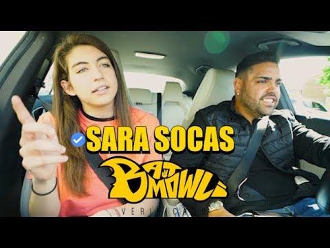 SARA SOCAS hace un INCREIBLE FREESTYLE con PALABRAS en el #BATMOWLI