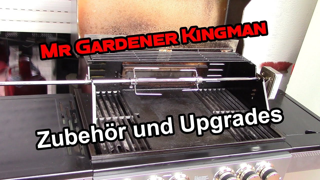 Drehspieß Für Gasgrill Mr Gardener : Pimp my kingman mr gardener kingman upgrade veganfrei