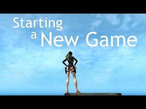 Tomb Raider: Underworld - Starting a New Game |
