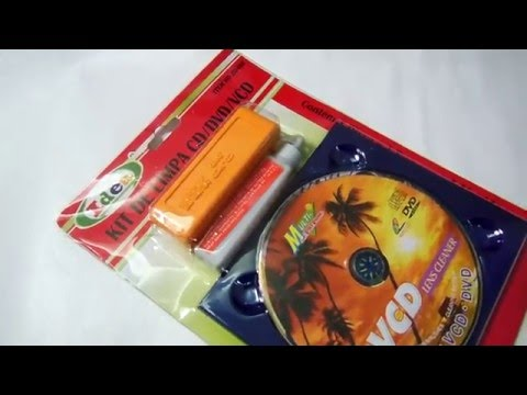 Kit Limpa Lente Lens Cleaner Limpeza Cd / Dvd / Vcd / Game dest Erechim RS