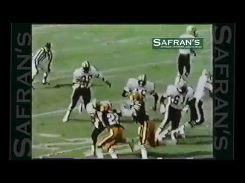 USC Gamecocks George Rogers ~ NFL Rookie of the Year ~ New Orleans Saints Hilites