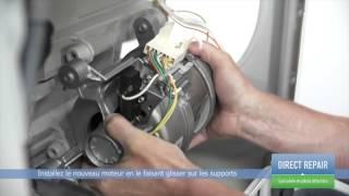 Remplacer le moteur d'un lave-linge