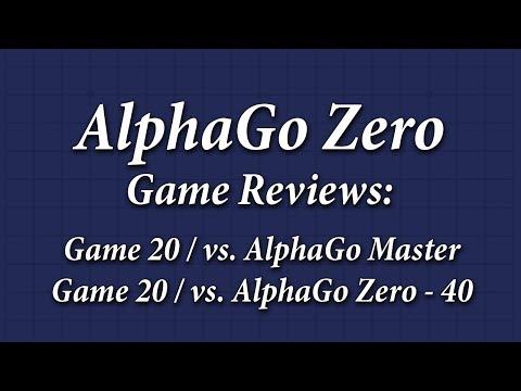 Peeking at AlphaGo Zero: Game Review 1