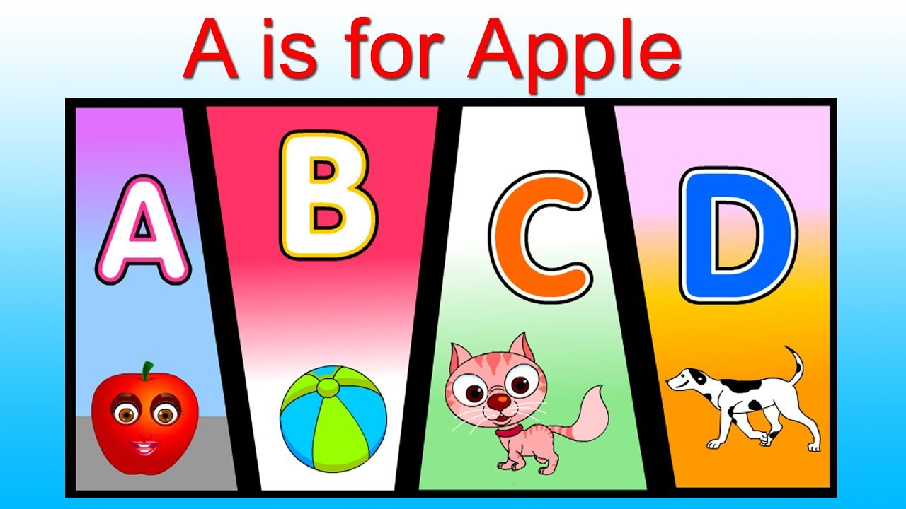 A is for Apple Nursery Rhymes for Kids   ABC Song   Alphabets Song   Phonics Rhymes for Babies