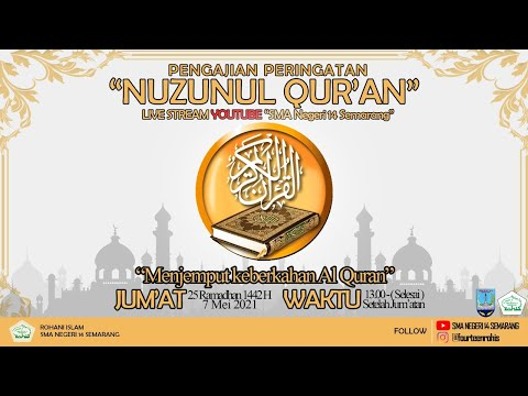 Pengajian Peringatan Nuzulul Qur'an 2021