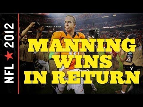 Peyton Manning Debuts in Denver: Broncos vs. Steelers 2012 Week One