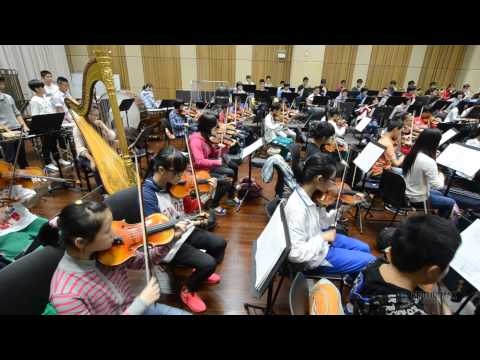 Children's orchestra in China