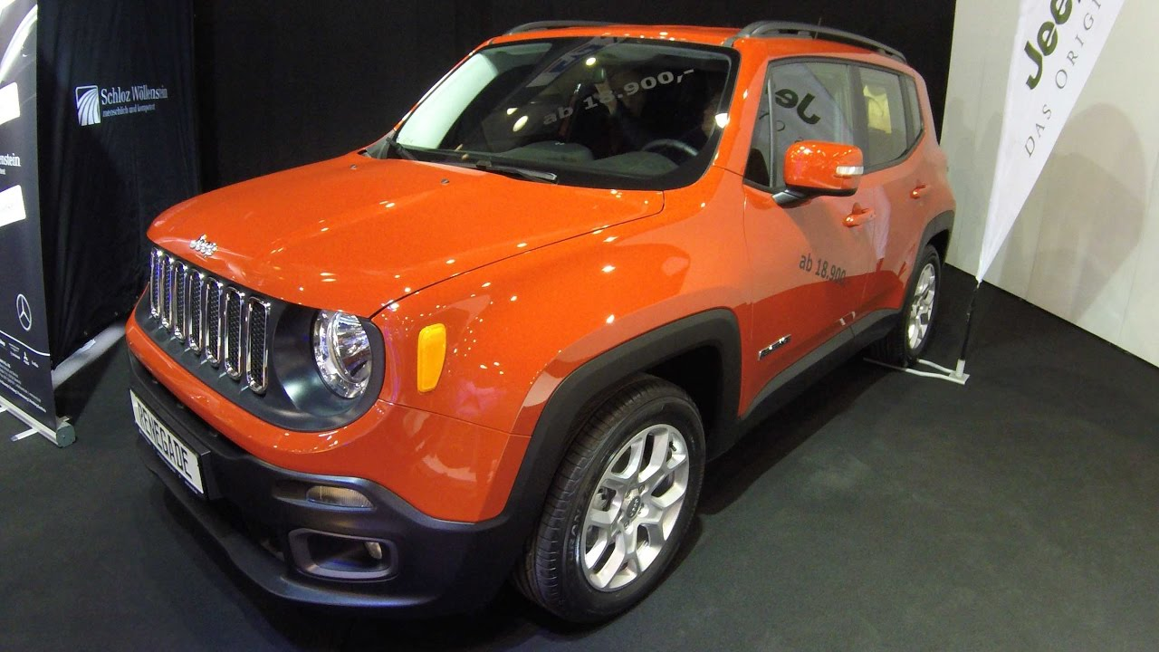 Jeep Renegade Orange >> Jeep Renegade Longitude Compilation 2 Orange And Yellow Colour Walkaround And Interior