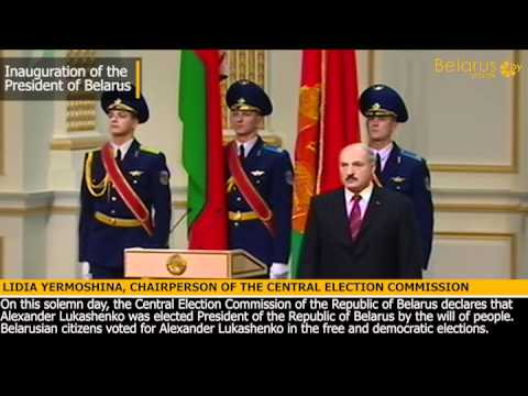 Inauguration of Belarus President